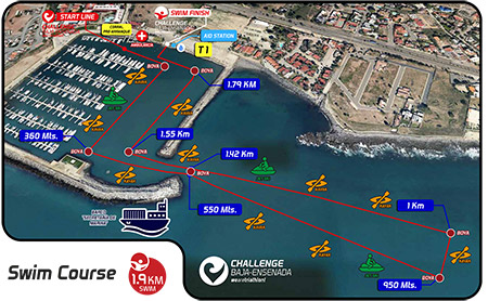 Swim Challenge Baja 113K